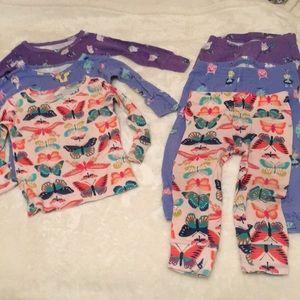 Carter's 10 piece pajamas